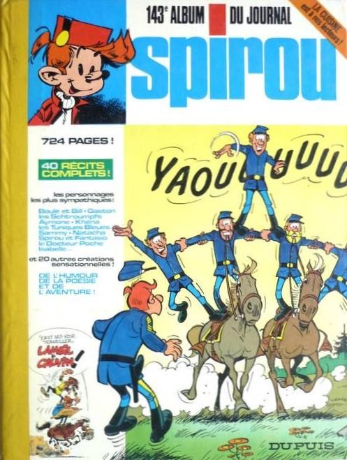 Couverture de (Recueil) Spirou (Album du journal) -143- Spirou album du journal