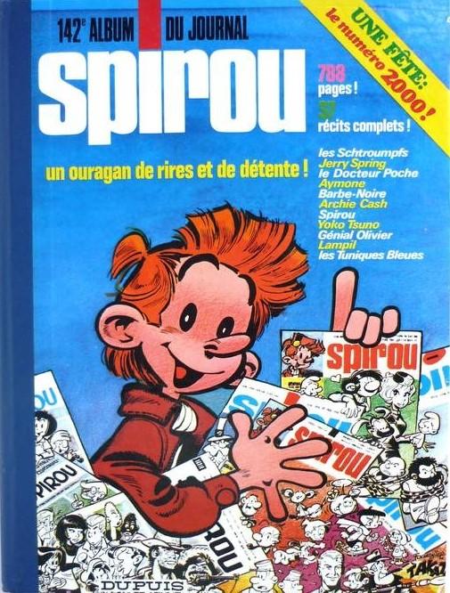 Couverture de (Recueil) Spirou (Album du journal) -142- Spirou album du journal