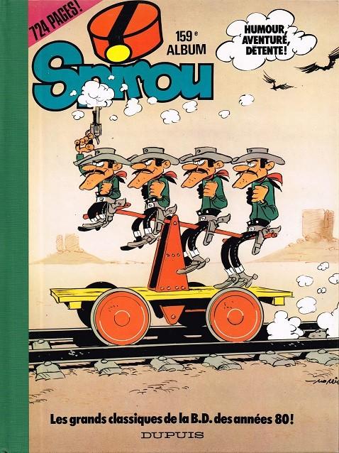 Couverture de (Recueil) Spirou (Album du journal) -159- Spirou album du journal