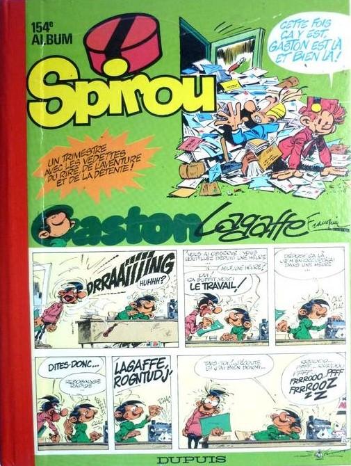 Couverture de (Recueil) Spirou (Album du journal) -154- Spirou album du journal