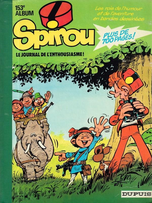 Couverture de (Recueil) Spirou (Album du journal) -153- Spirou album du journal