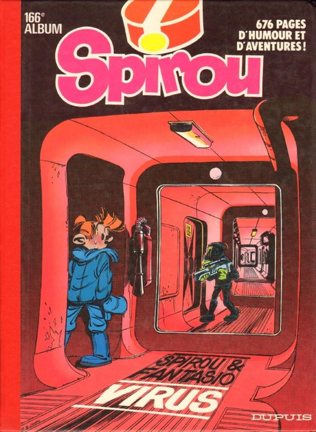 Couverture de (Recueil) Spirou (Album du journal) -166- Spirou album du journal
