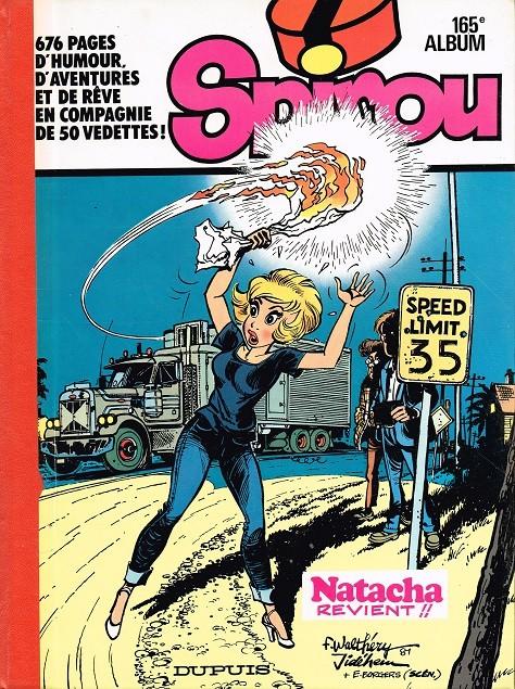 Couverture de (Recueil) Spirou (Album du journal) -165- Spirou album du journal