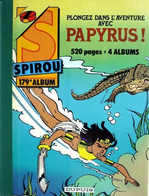 Couverture de (Recueil) Spirou (Album du journal) -179- Spirou album du journal