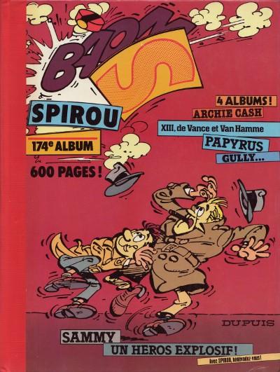 Couverture de (Recueil) Spirou (Album du journal) -174- Spirou album du journal