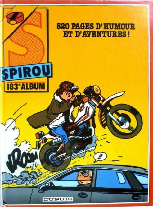 Couverture de (Recueil) Spirou (Album du journal) -183- Spirou album du journal