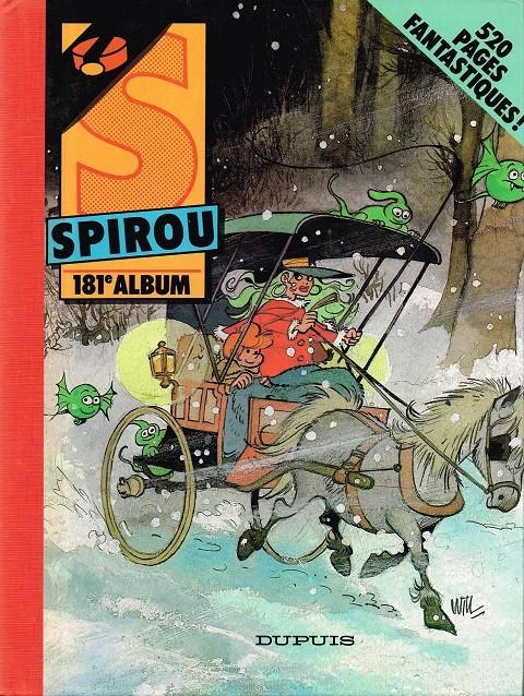 Couverture de (Recueil) Spirou (Album du journal) -181- Spirou album du journal