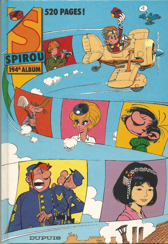 Couverture de (Recueil) Spirou (Album du journal) -194- Spirou album du journal