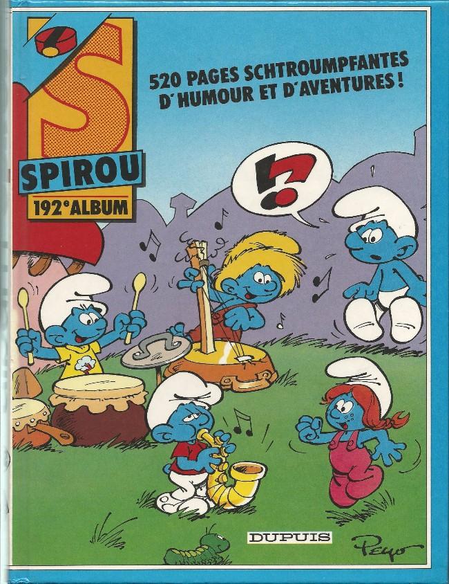 Couverture de (Recueil) Spirou (Album du journal) -192- Spirou album du journal