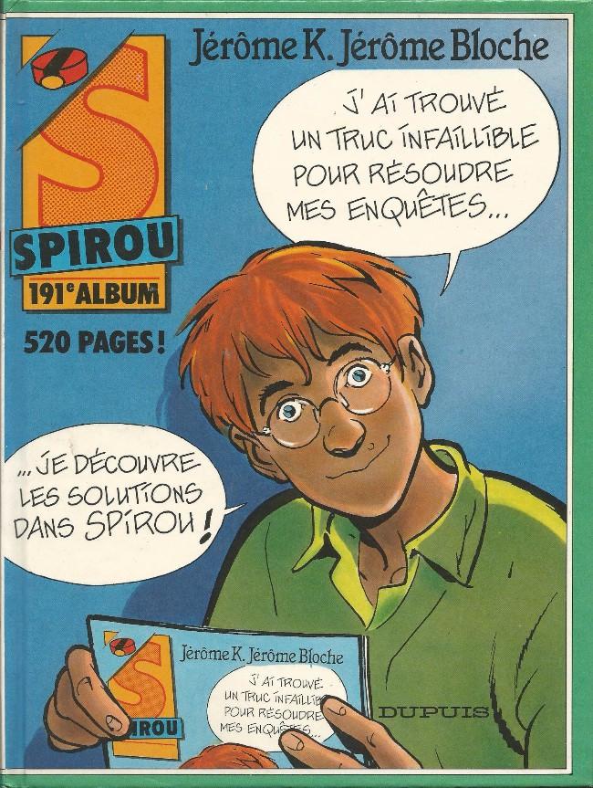 Couverture de (Recueil) Spirou (Album du journal) -191- Spirou album du journal