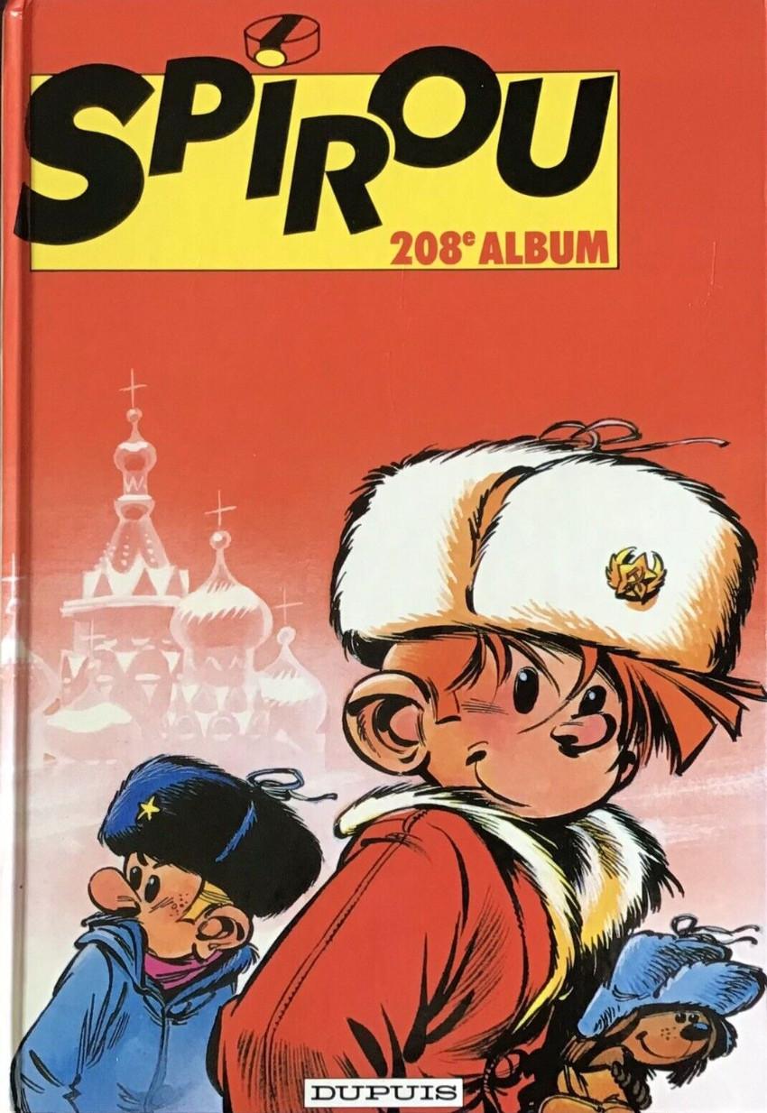 Couverture de (Recueil) Spirou (Album du journal) -208- Spirou album du journal