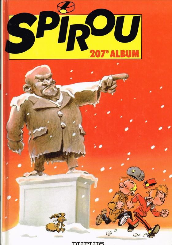 Couverture de (Recueil) Spirou (Album du journal) -207- Spirou album du journal