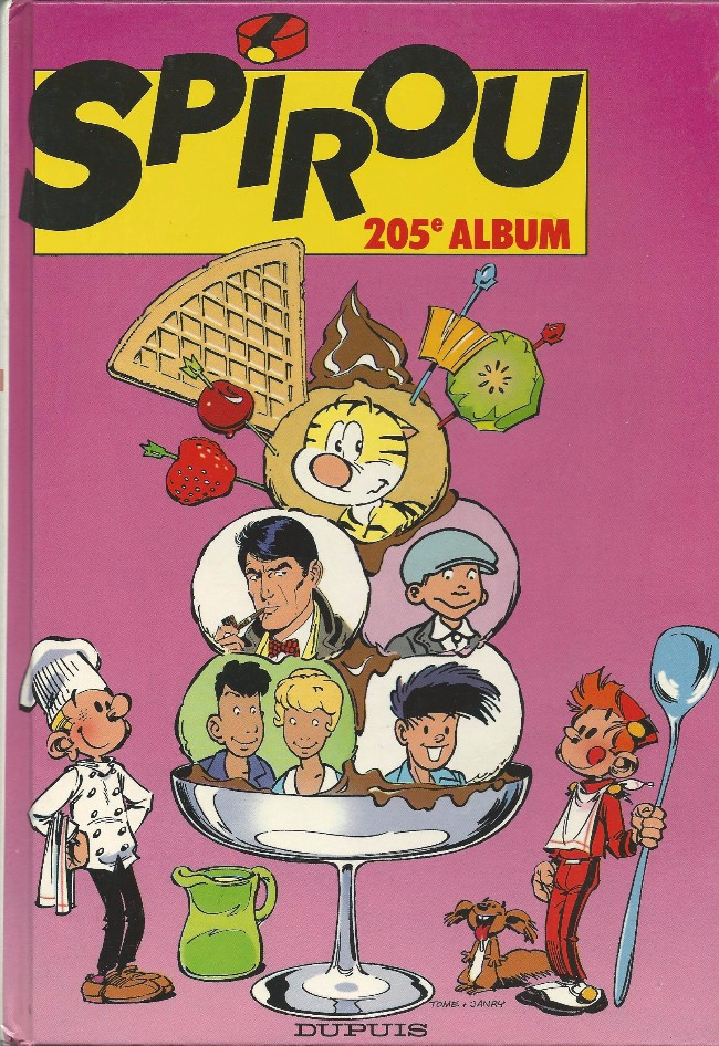 Couverture de (Recueil) Spirou (Album du journal) -205- Spirou album du journal