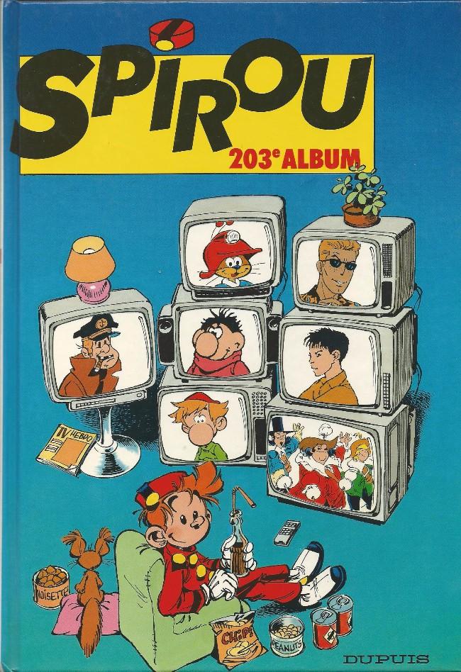Couverture de (Recueil) Spirou (Album du journal) -203- Spirou album du journal