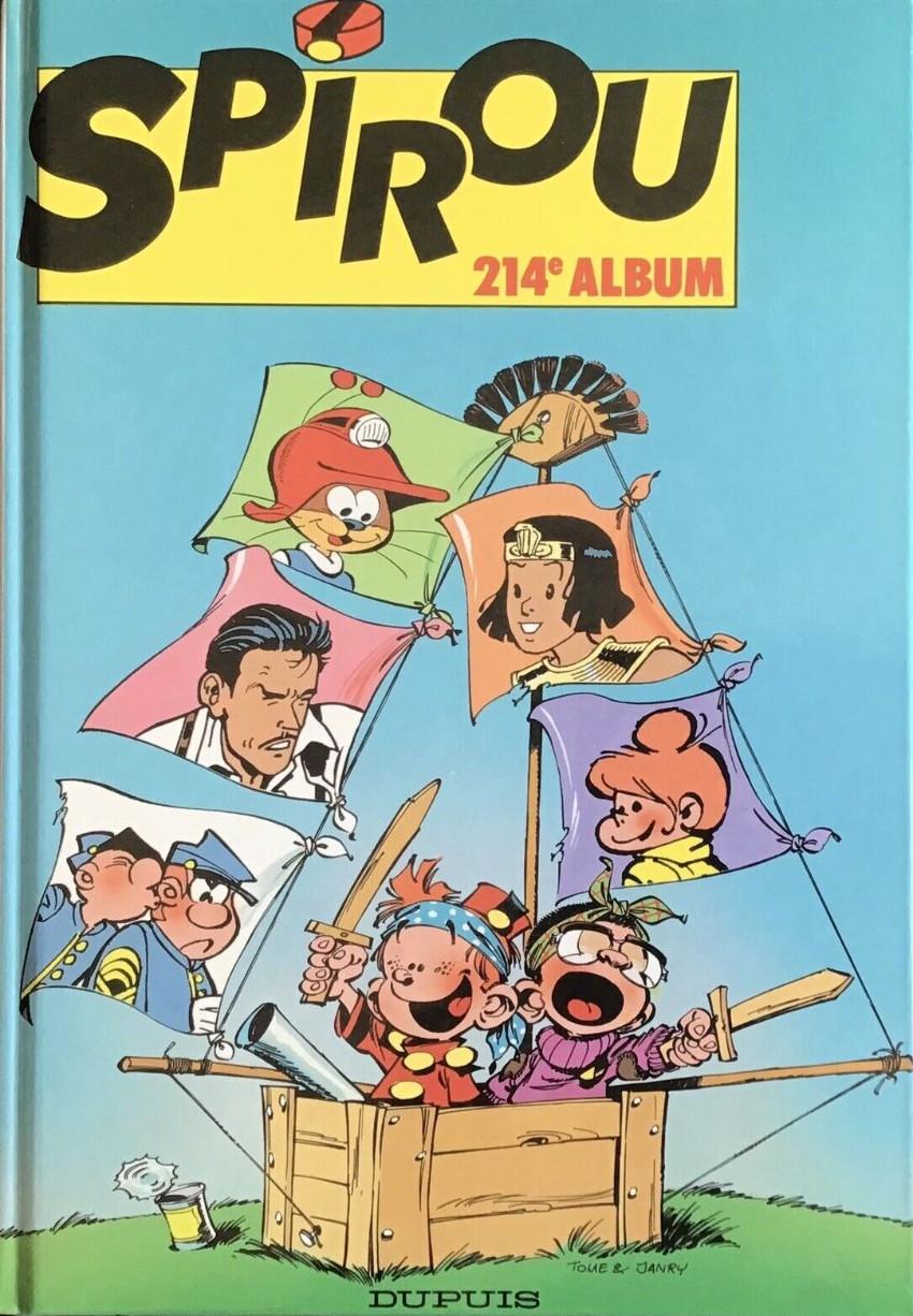 Couverture de (Recueil) Spirou (Album du journal) -214- Spirou album du journal