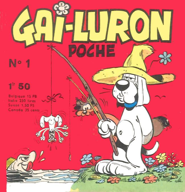 Couverture de Gai-Luron (Poche) -1- Et voici Gai-Luron !
