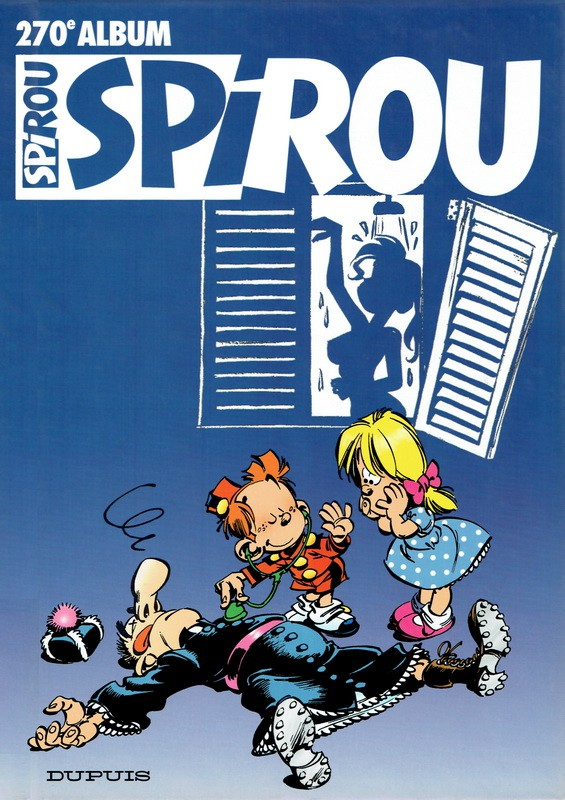 Couverture de (Recueil) Spirou (Album du journal) -270- Spirou album du journal