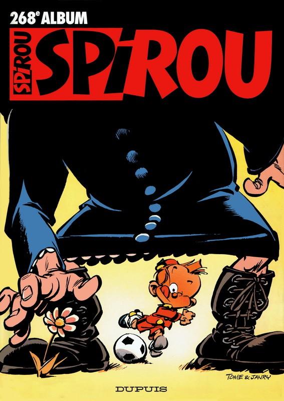 Couverture de (Recueil) Spirou (Album du journal) -268- Spirou album du journal