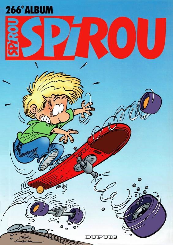 Couverture de (Recueil) Spirou (Album du journal) -266- Spirou album du journal