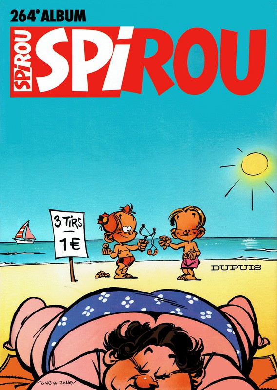 Couverture de (Recueil) Spirou (Album du journal) -264- Spirou album du journal