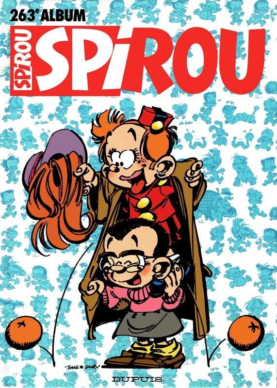 Couverture de (Recueil) Spirou (Album du journal) -263- Spirou album du journal