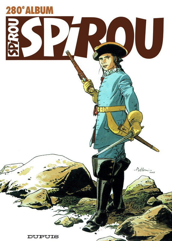 Couverture de (Recueil) Spirou (Album du journal) -280- Spirou album du journal