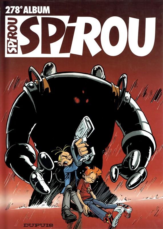 Couverture de (Recueil) Spirou (Album du journal) -278- Spirou album du journal