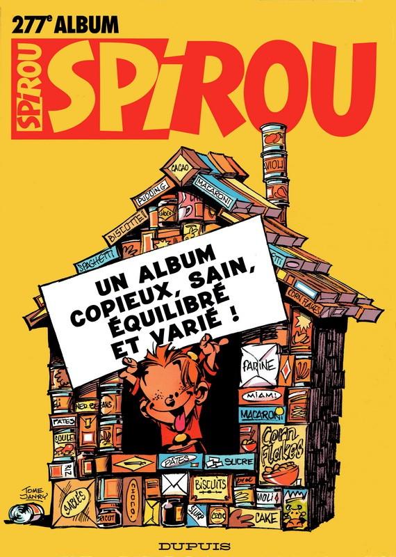 Couverture de (Recueil) Spirou (Album du journal) -277- Spirou album du journal