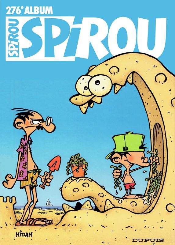 Couverture de (Recueil) Spirou (Album du journal) -276- Spirou album du journal