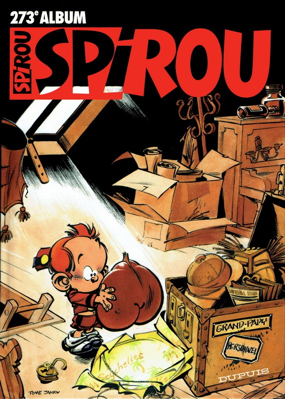 Couverture de (Recueil) Spirou (Album du journal) -273- Spirou album du journal