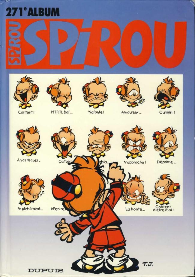 Couverture de (Recueil) Spirou (Album du journal) -271- Spirou album du journal