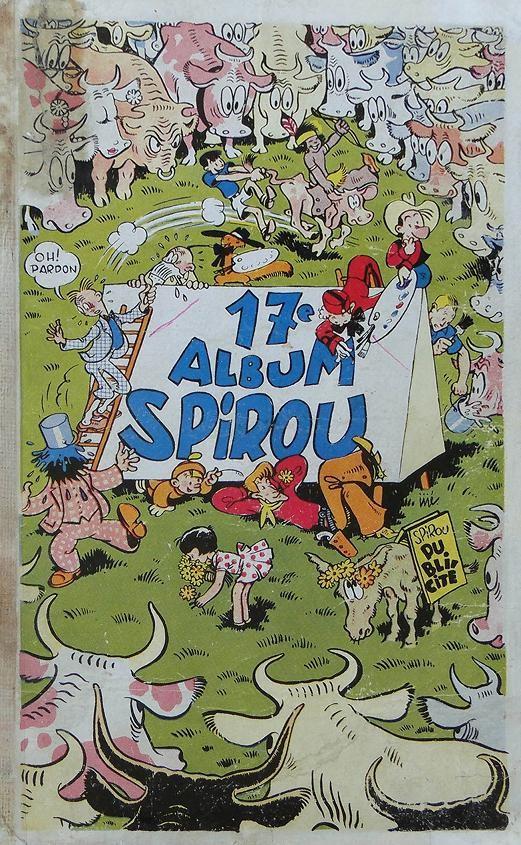 Couverture de (Recueil) Spirou (Album du journal) -17- Spirou album du journal
