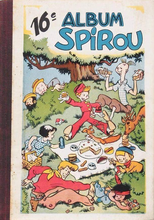 Couverture de (Recueil) Spirou (Album du journal) -16- Spirou album du journal
