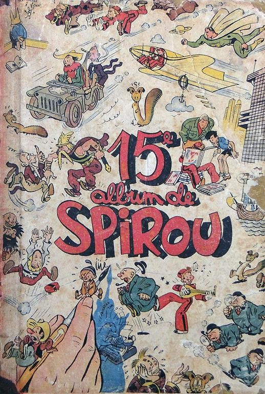 Couverture de (Recueil) Spirou (Album du journal) -15- Spirou album du journal