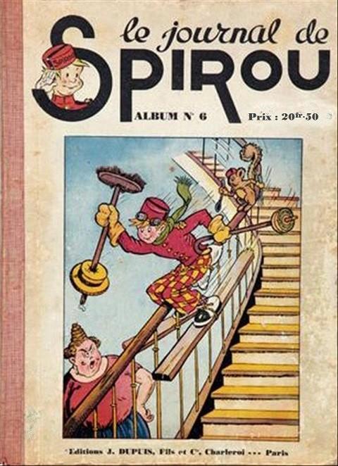 Couverture de (Recueil) Spirou (Album du journal) -6- Spirou album du journal