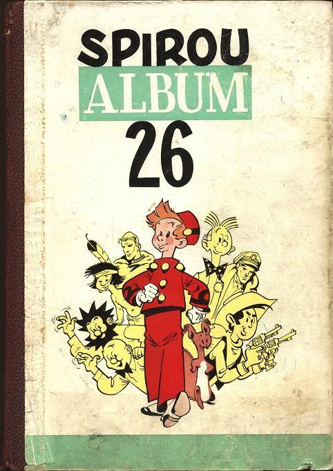 Couverture de (Recueil) Spirou (Album du journal) -26- Spirou album du journal