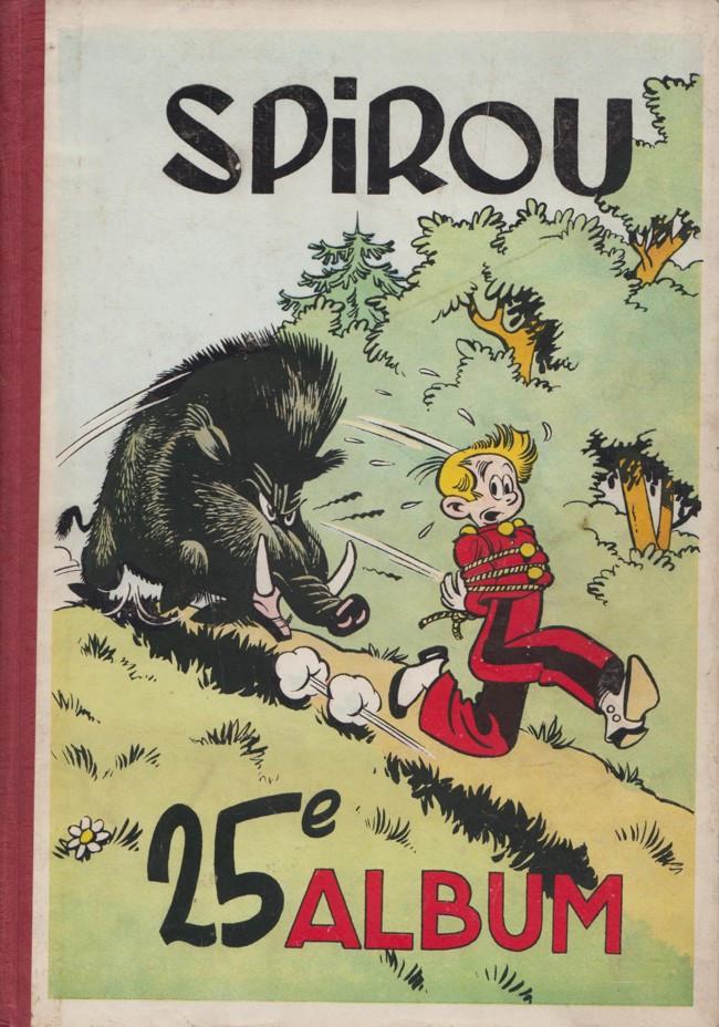 Couverture de (Recueil) Spirou (Album du journal) -25- Spirou album du journal