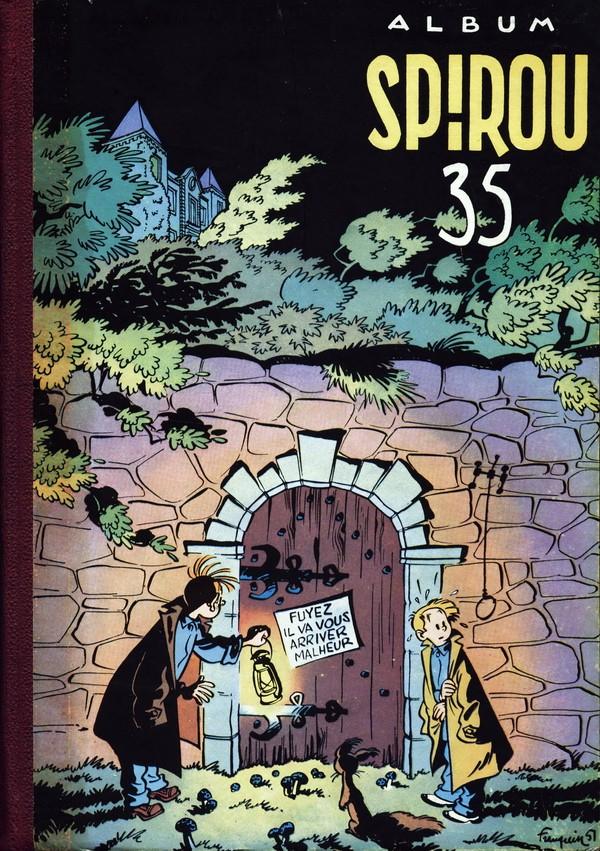 Couverture de (Recueil) Spirou (Album du journal) -35- Spirou album du journal