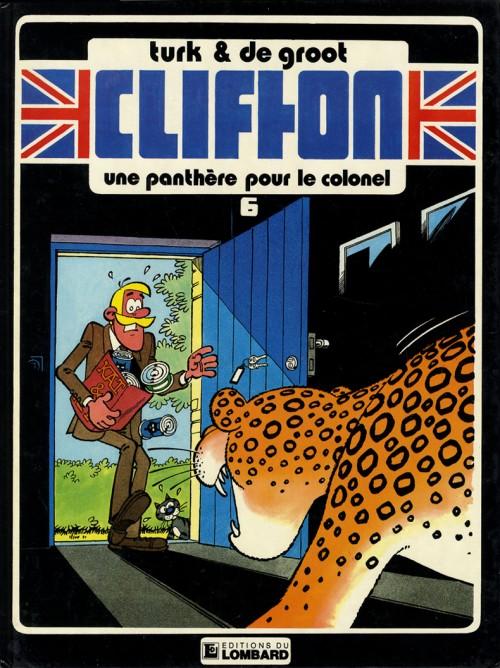 Couverture de Clifton -6- Une panthère pour le colonel
