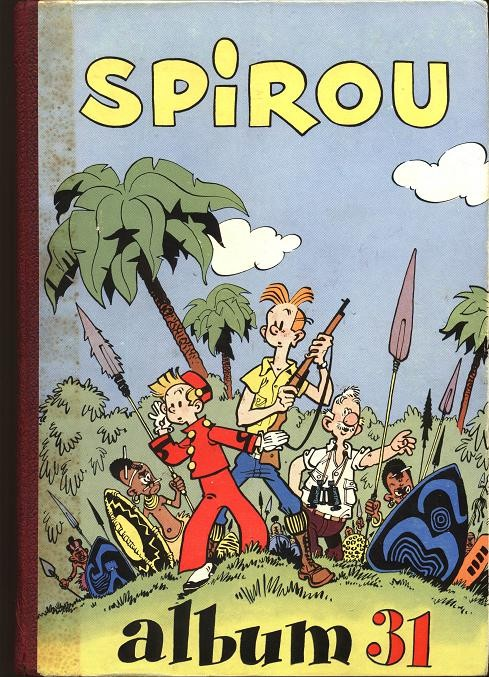 Couverture de (Recueil) Spirou (Album du journal) -31- Spirou album du journal