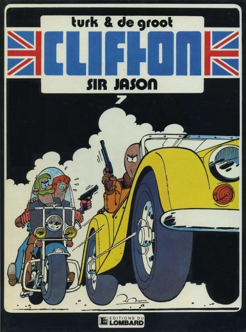Couverture de Clifton -7- Sir Jason