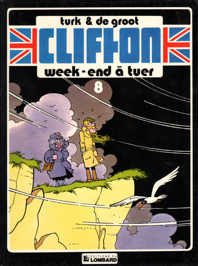 Couverture de Clifton -8- Week-end à tuer