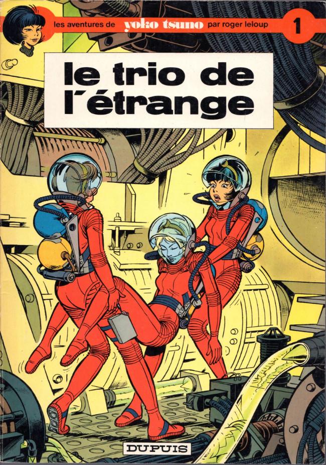 Couverture de Yoko Tsuno -1- Le trio de l'étrange