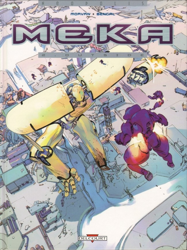 Couverture de Meka -2- Outside