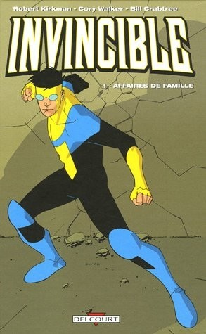 Couverture de Invincible -1- Affaires de famille
