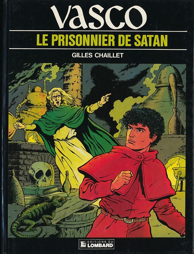 Couverture de Vasco -2- Le prisonnier de Satan