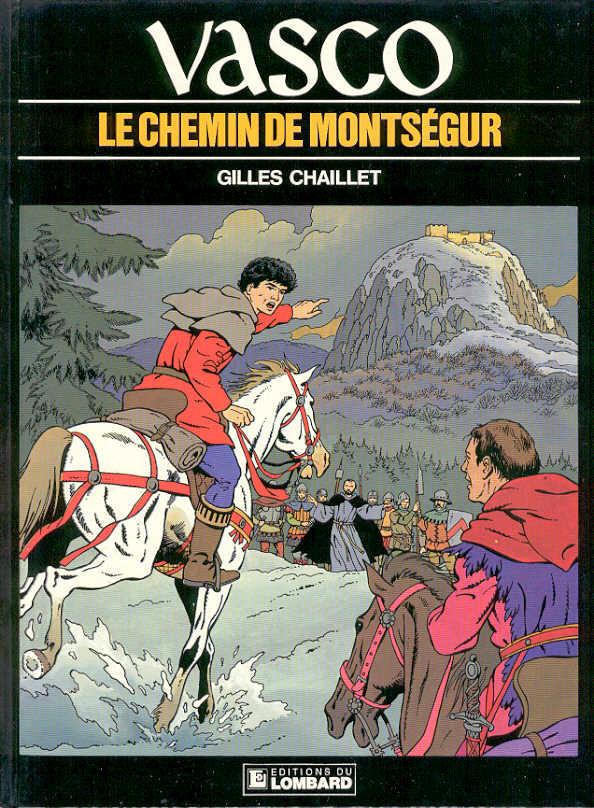 Couverture de Vasco -8- Le chemin de Montségur