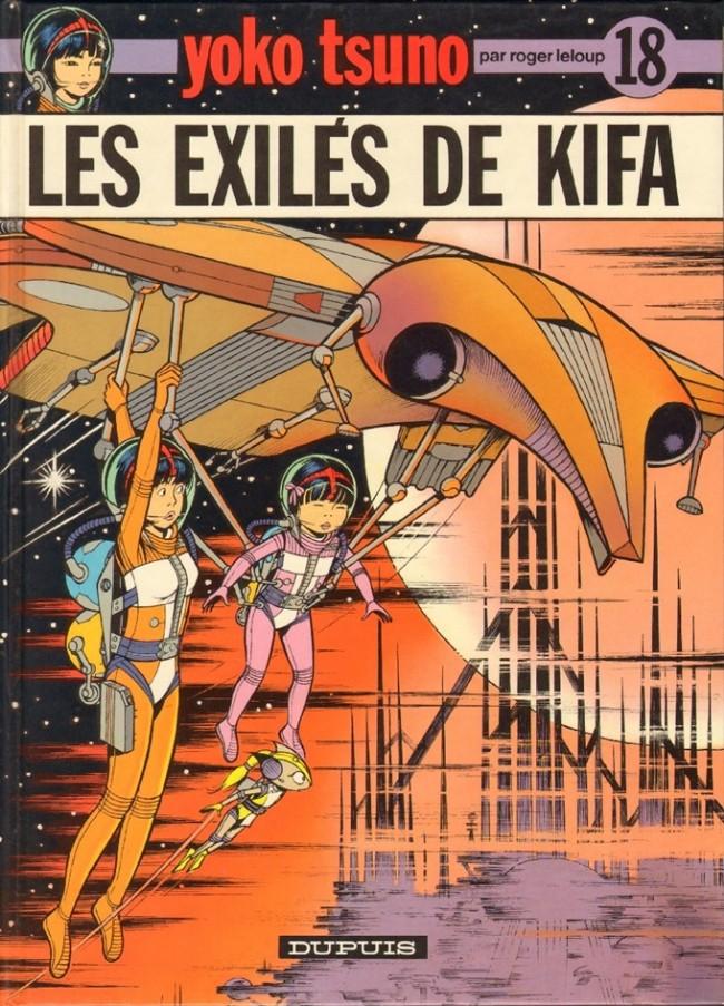 Couverture de Yoko Tsuno -18- Les exilés de Kifa