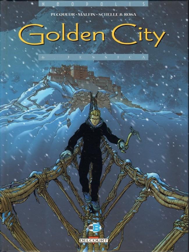 Couverture de Golden City -6- Jessica
