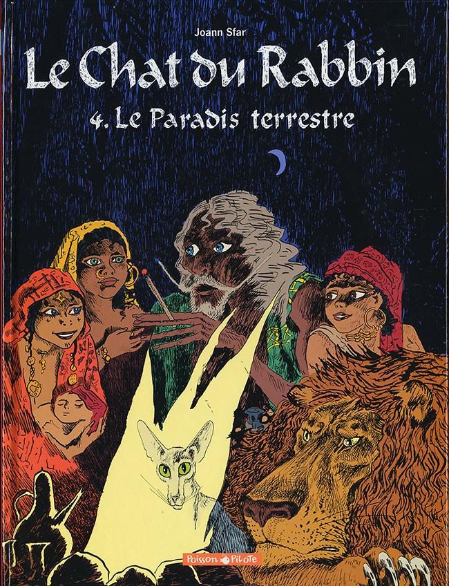 Couverture de Le chat du Rabbin -4- Le Paradis Terrestre